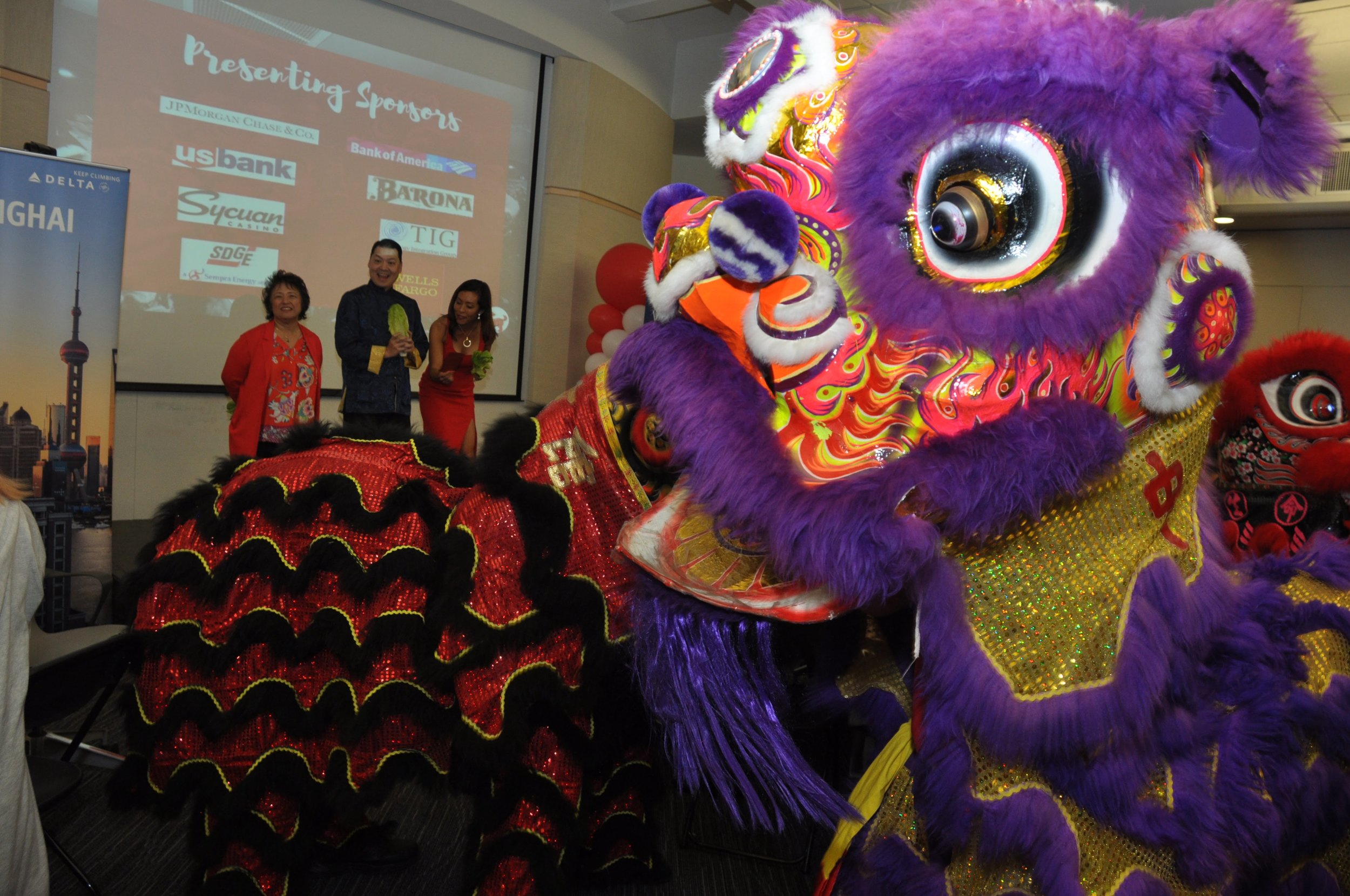 It is the year of the dog in 2018. A special lion dance performances kicked off the Chinese Lunar New Year event at the 2018 Asian Business Association's annual celebration.