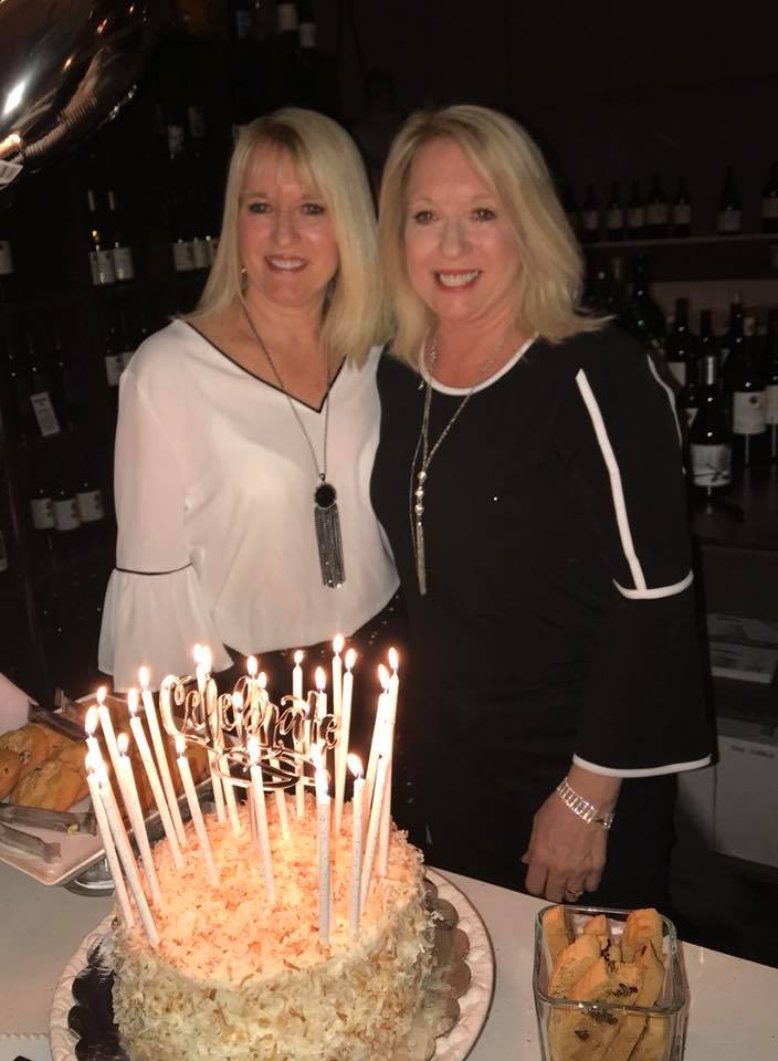Lisa and Lori celebrated their 60th birthday at 2Planks Vineyards in Vista, California.