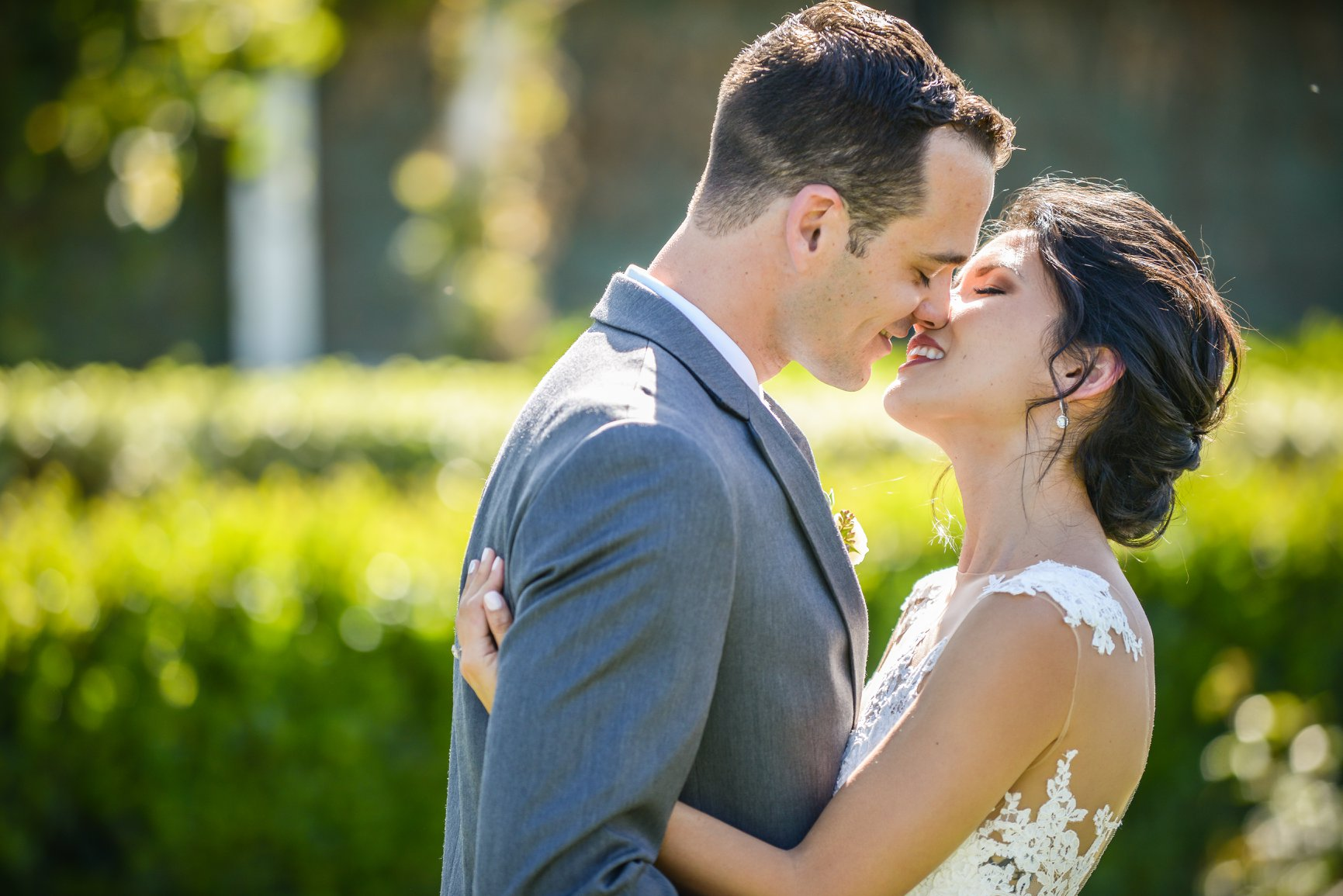 Crystal and Logan celebrated their wedding at Ponte Winery in Temecula on April 8, 2018.