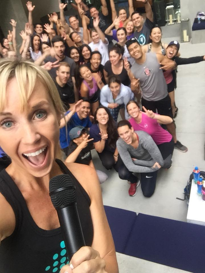 Sheri Matthews Kimmel leads the June 2019 Fitbit Local Workout