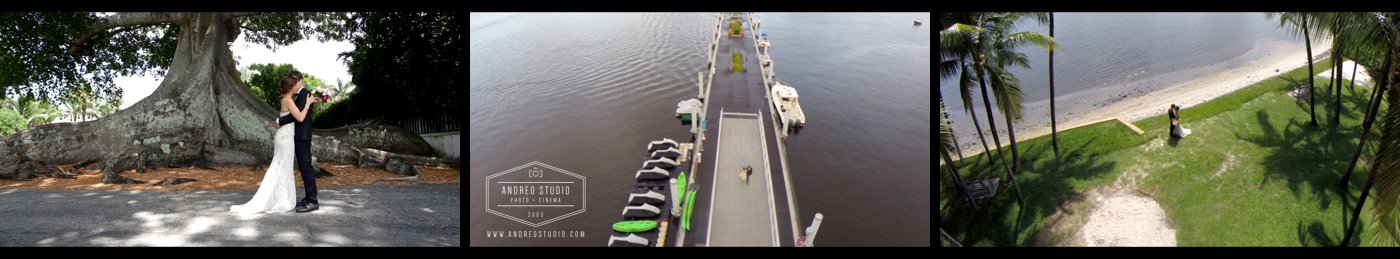 Weding First look Drone Video