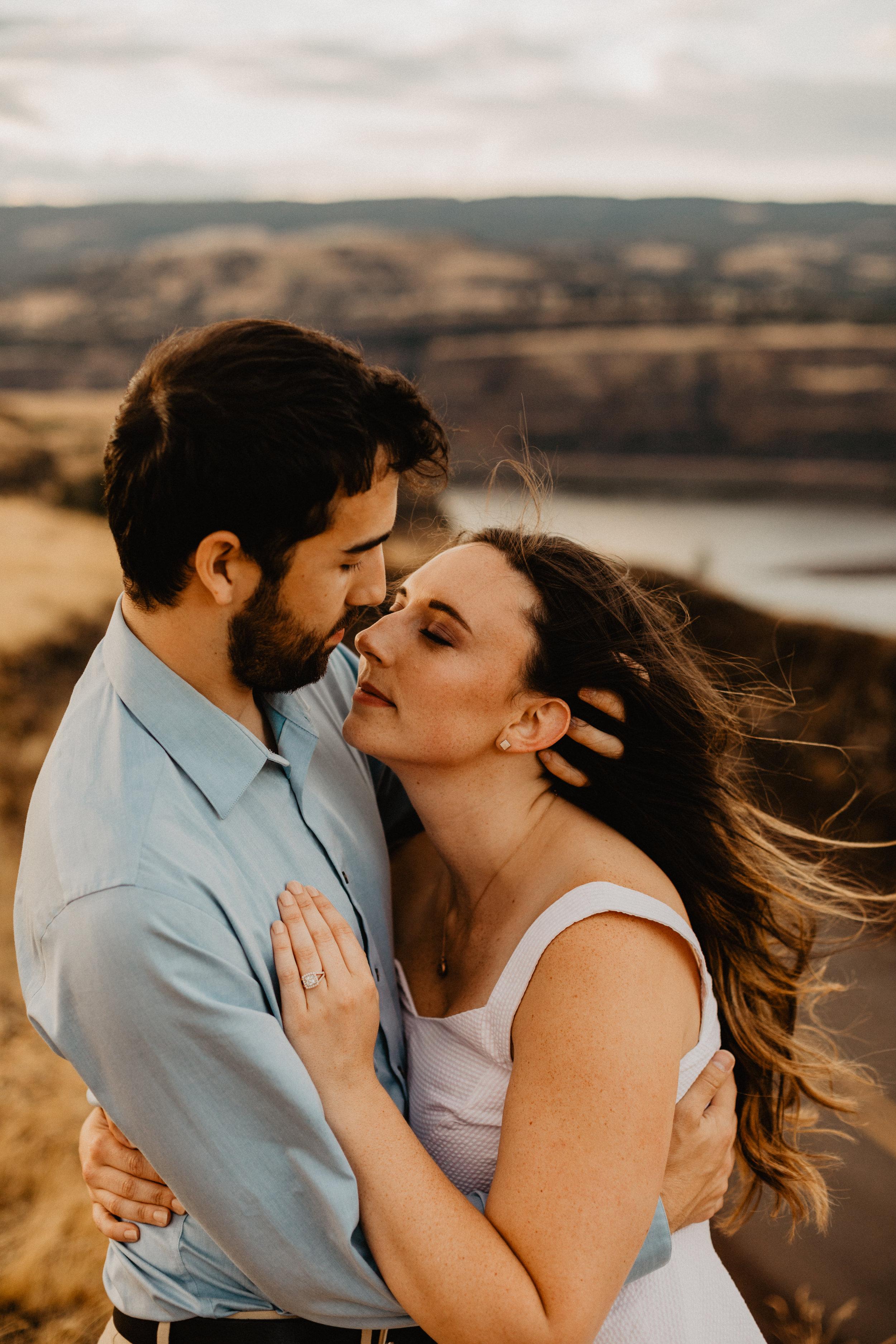 rowena crest engagement, oregon wedding photographer, engagement photos, natural light photographer-209.jpg
