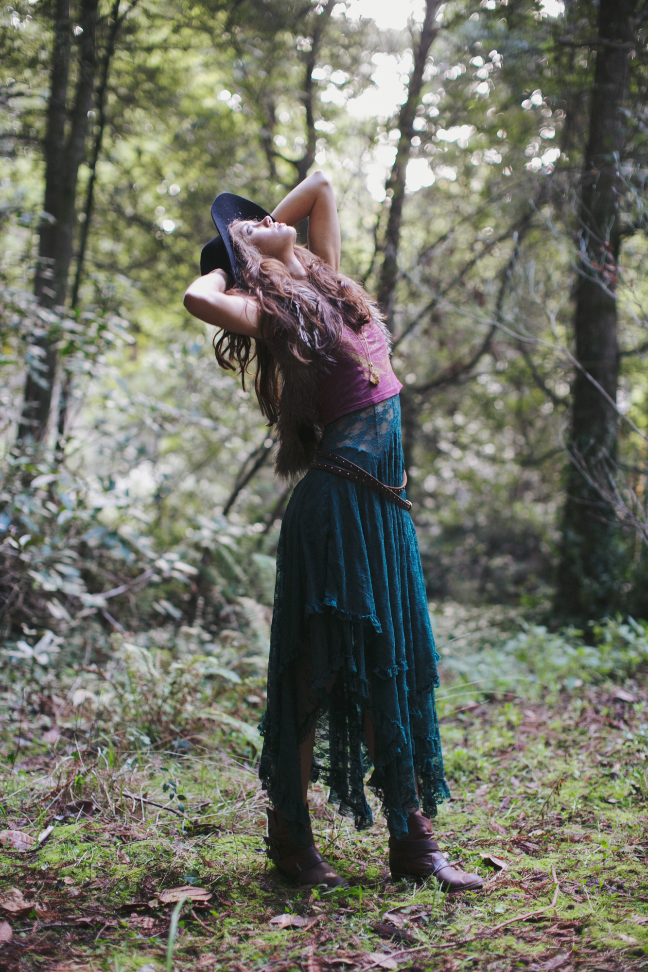 Fashion Photographer, Jennifer Skog's seductive & playful version of Cabin Fever.