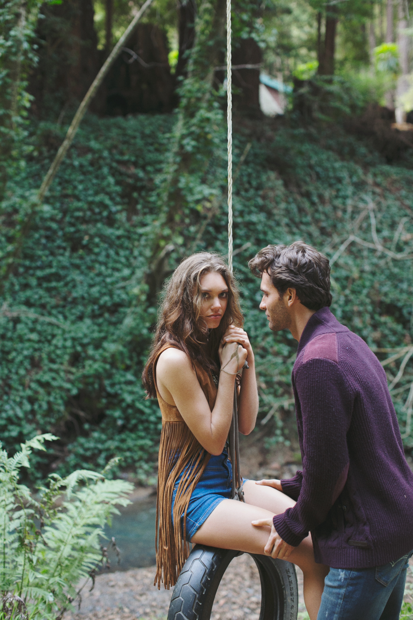 Fashion Photographer, Jennifer Skog's seductive version of Cabin Fever