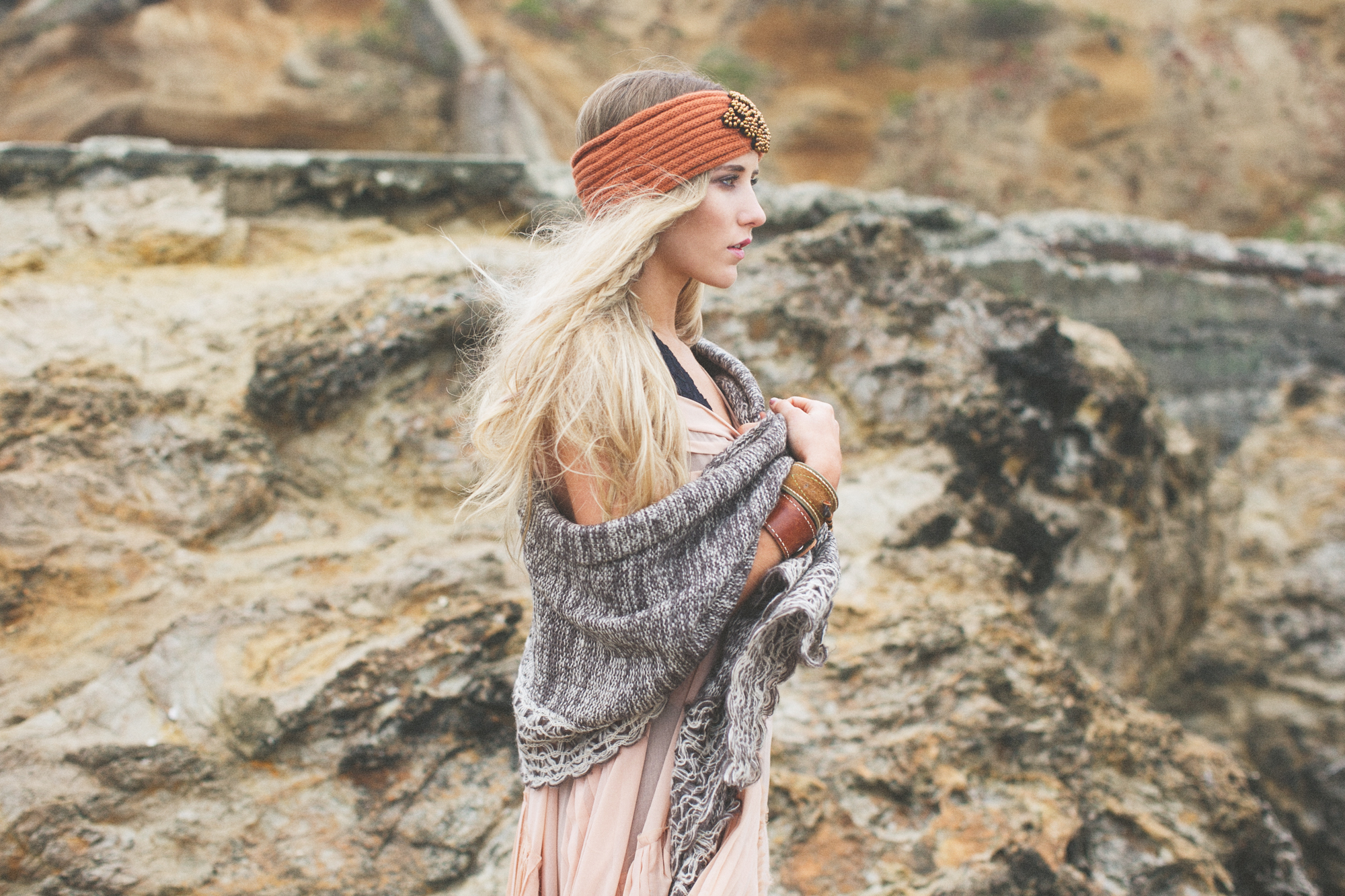 Fashion Photographer, Jennifer Skog's ethereal lands end indie fashion shoot for Three Bird Nest
