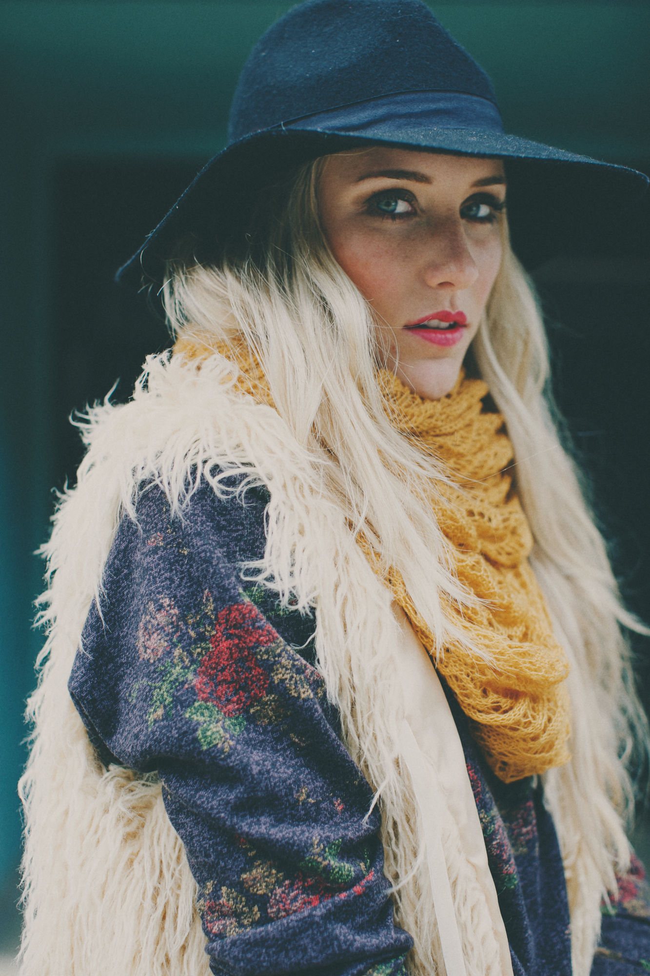 Fashion Photographer, Jennifer Skog's city hipster winter lookbook shoot for Three Bird Nest