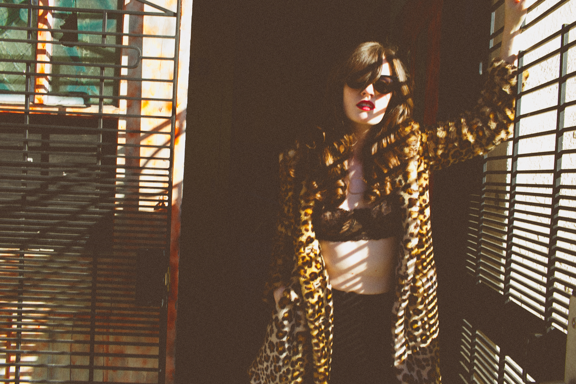 Music & Fashion Photographer Jennifer Skog photographs indie-electronic pop duo CATHEDRALS