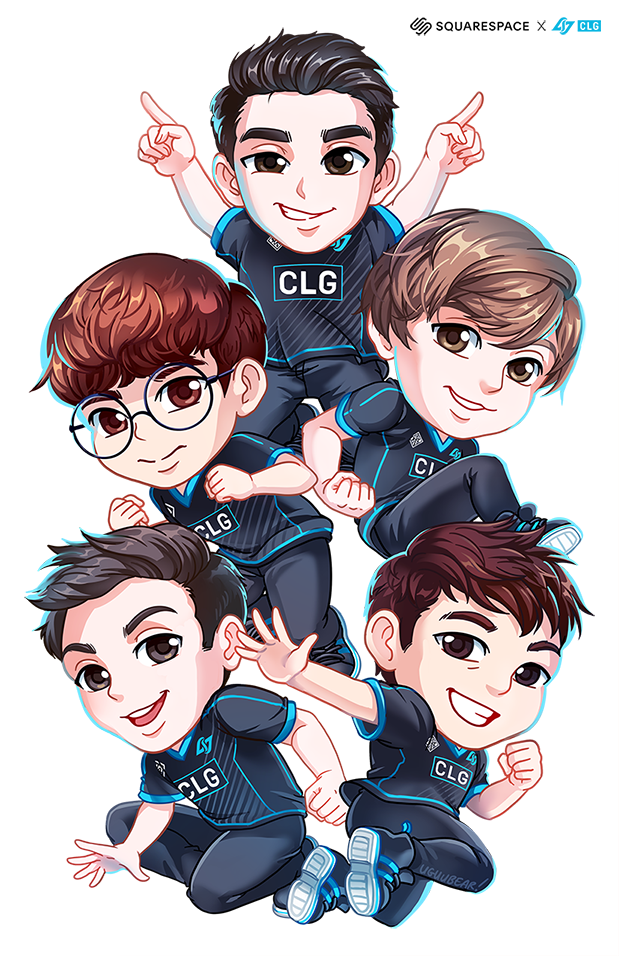 CLG Team Poster  Promotional LCS seatdrop 2019