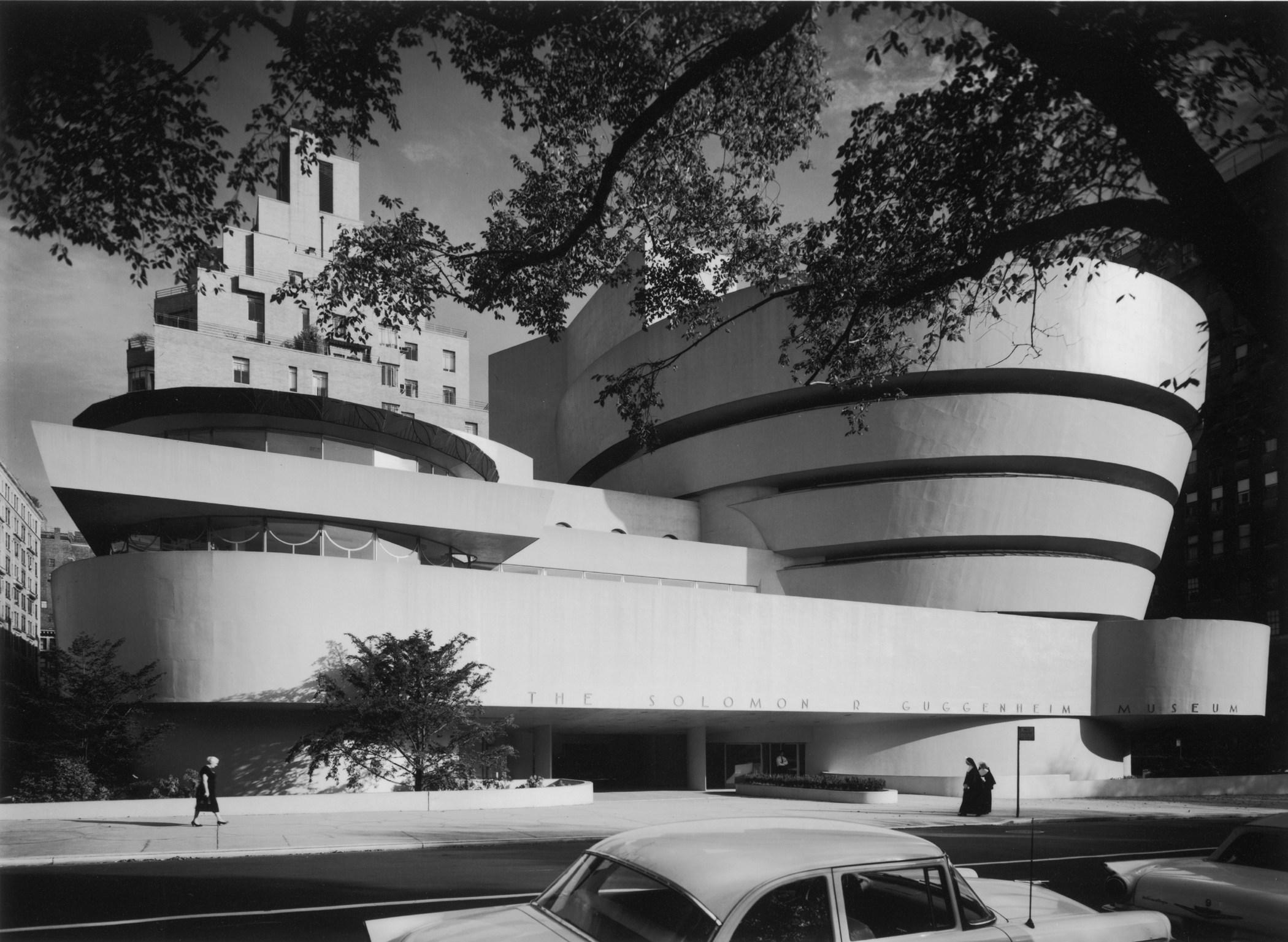 """""""Guggenheim 1959"""" Ezra Stoller"""