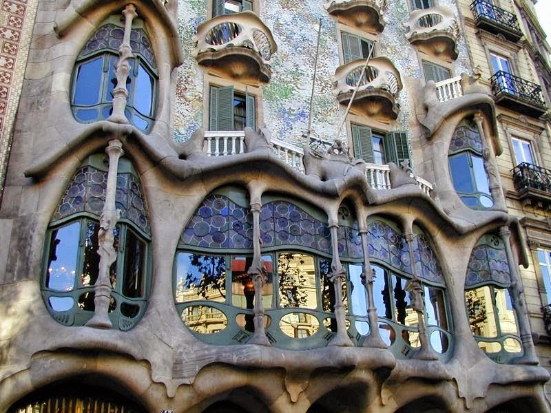 Anton Gaudi's Casa Batilo