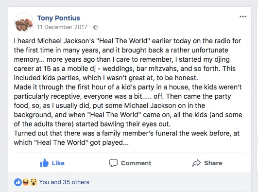 Disclaimer: Tony Pontius is no longer available to DJ for Kids Parties, However, he does own, produce and DJ for Hottwerk Records and is also known as Spatial Awareness