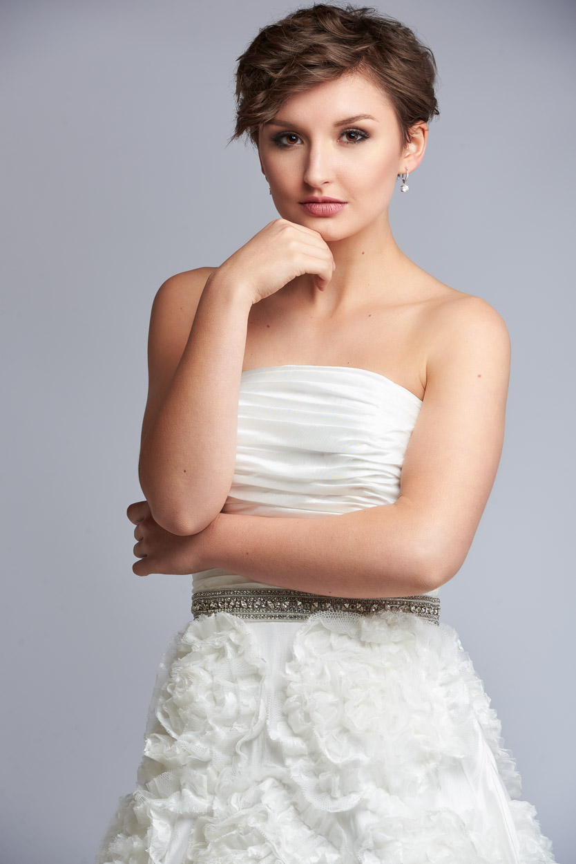 Model fashion style portrait