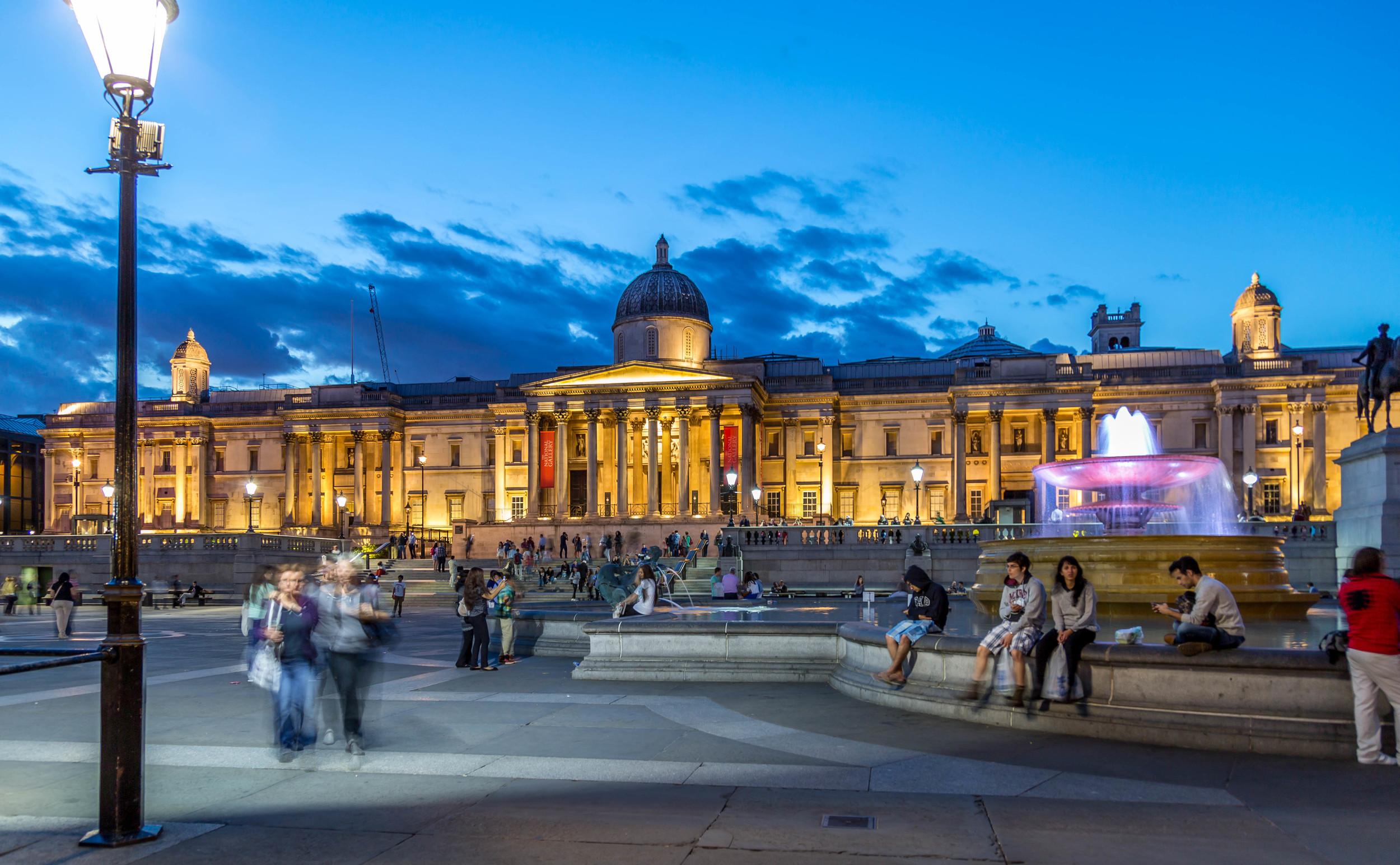 Trafalgar Square at Night.jpg