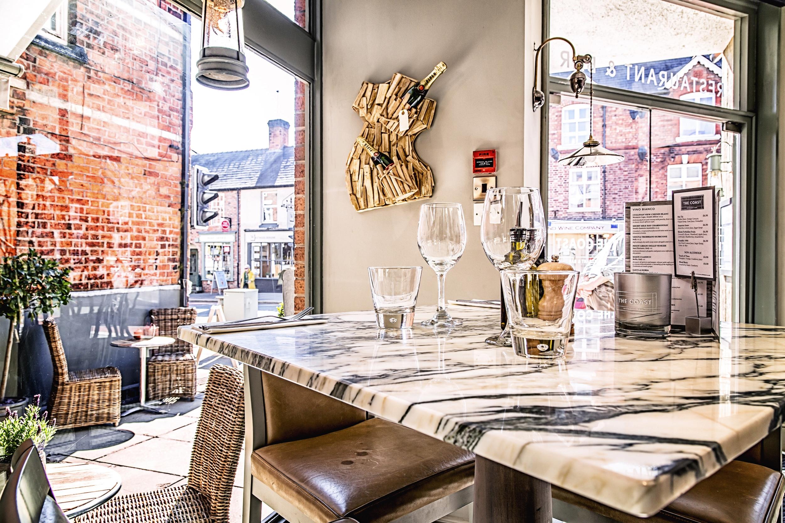 The Coast restaurant, Tarporley