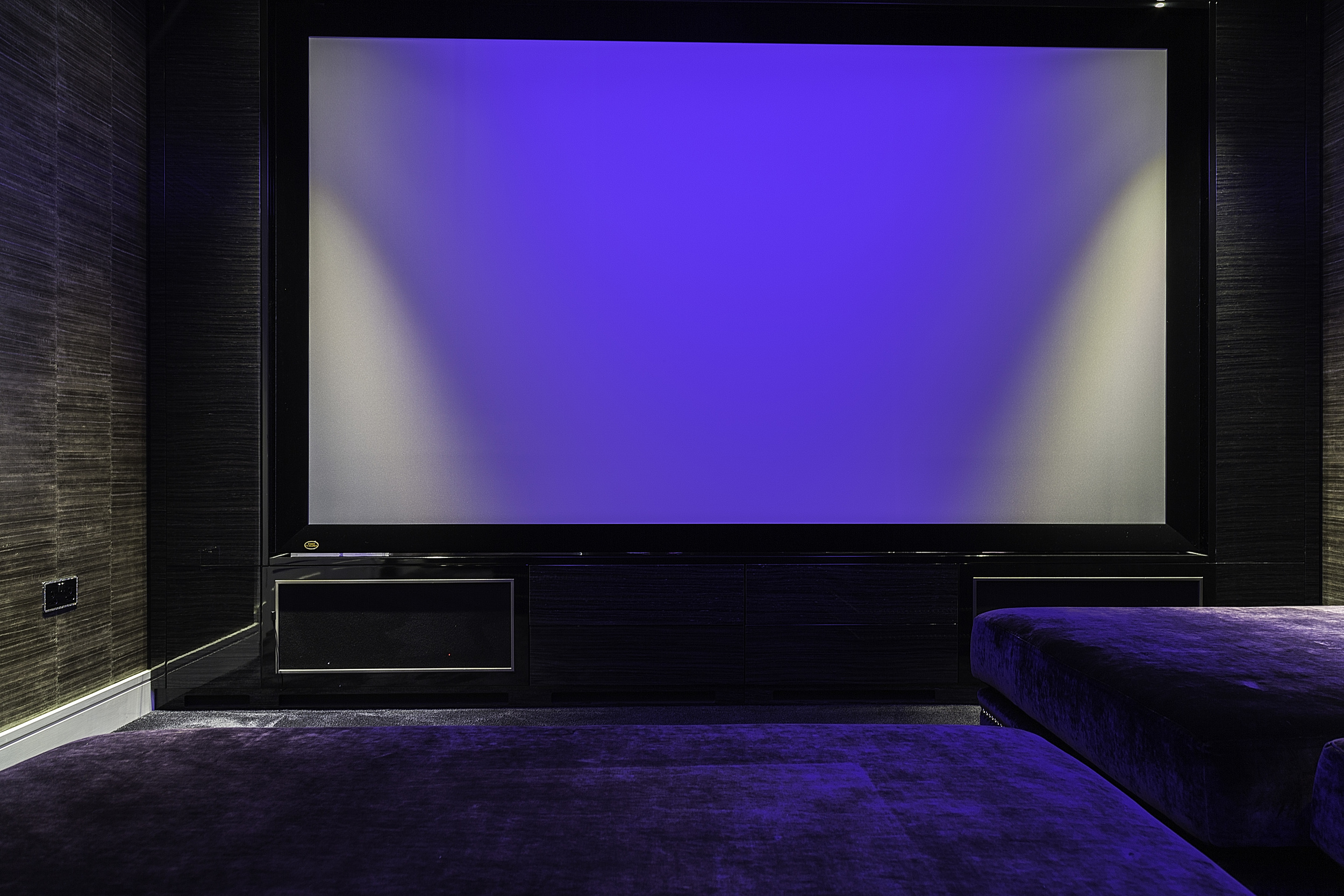 Media Room Hampstead London