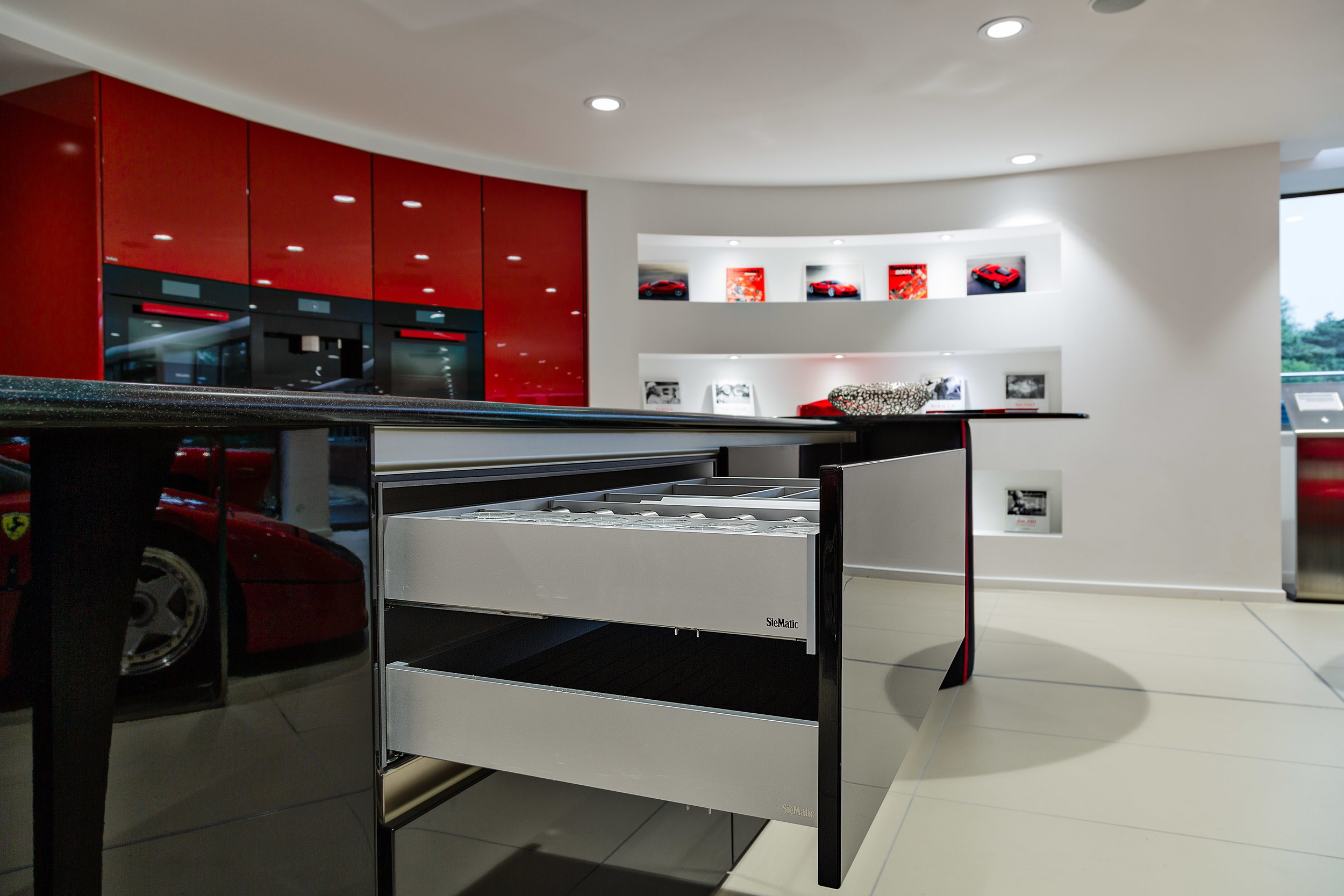 SieMatic drawer open