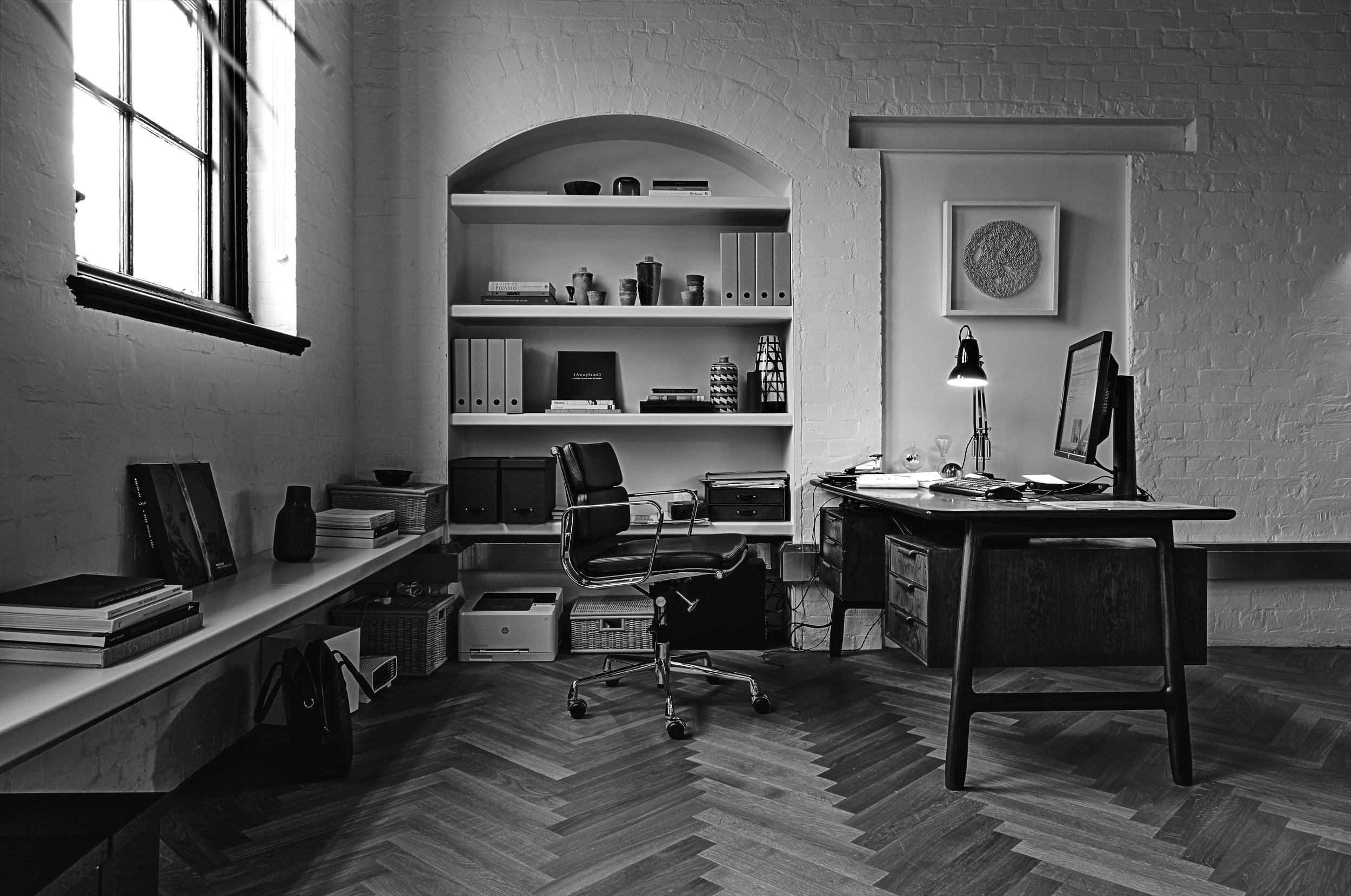 Chester director's office desk