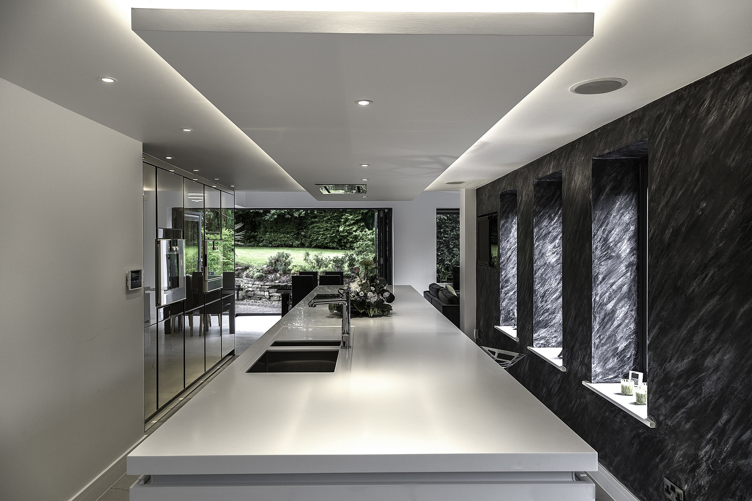Norley kitchen, long view, SieMatic