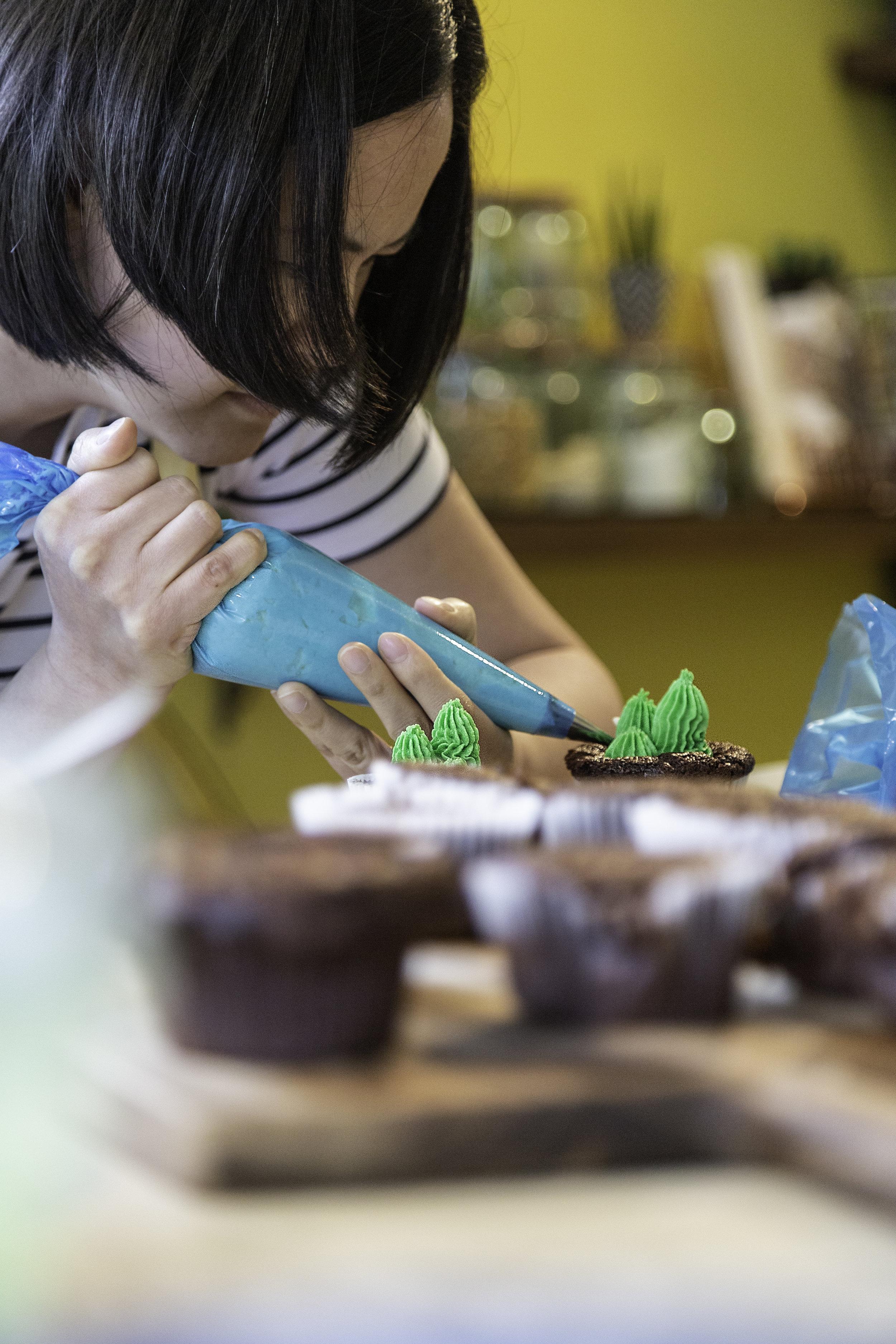 Amble Bake Off Cupcake Decorating