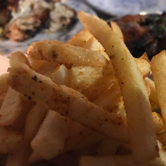 Some gunpowder fries and all the naan.