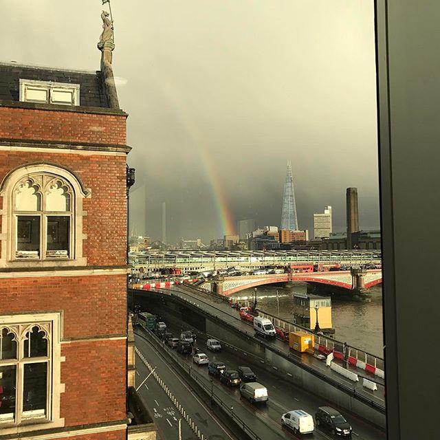 Somewhere over the rainbow 🌈