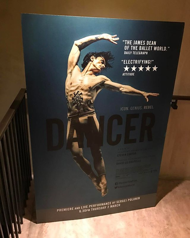 What an utterly outstanding and exquisite documentary #dancer