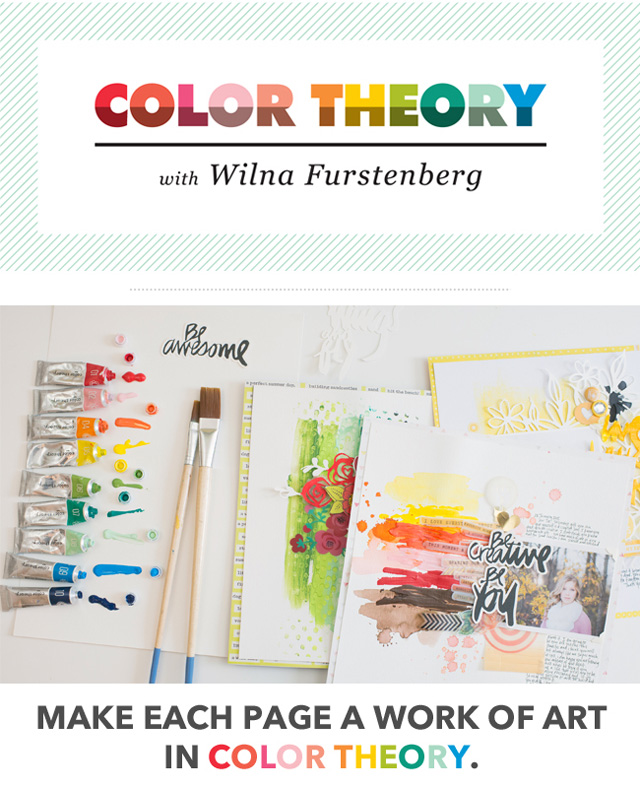 Color Theory class with Wilna Furstenberg
