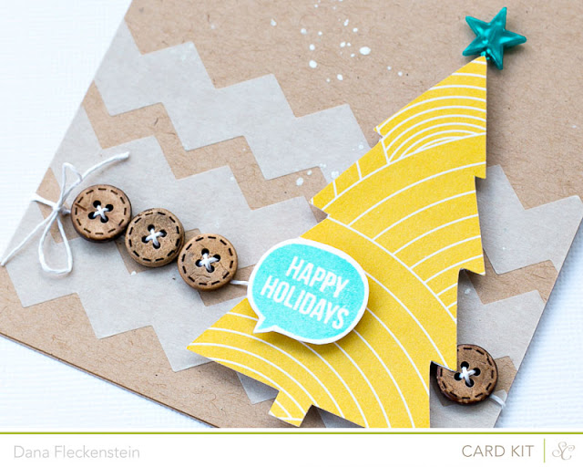 Studio Calico Cuppa Kit card by @pixnglue - detail