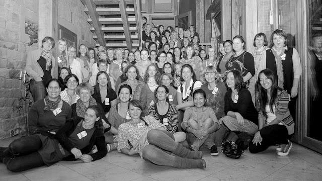Group Shot of the Scrapbook Werkstatt Mega-Event 2012 Participants