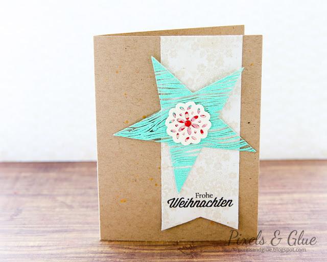 Scrap-Art-Zine Fall 2012 Pub - Christmas Card Embossed Star