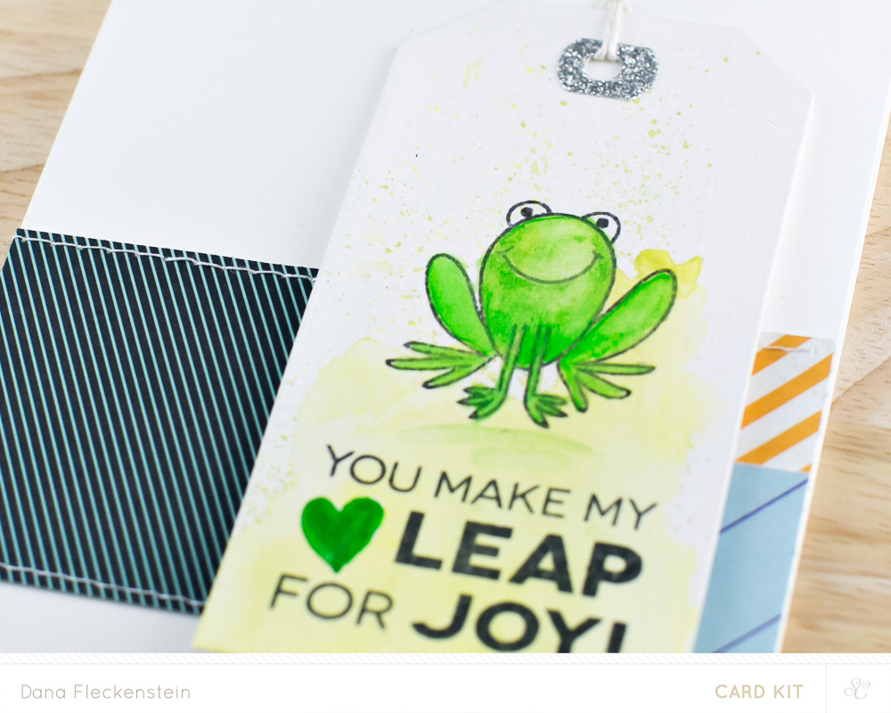 You Make My Heart Leap Card Detail