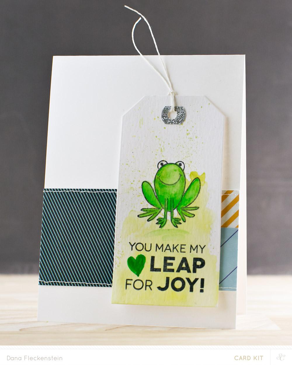 You Make My Heart Leap Card