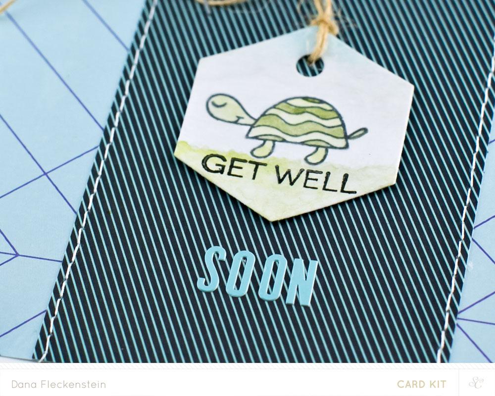 Get Well Soon Card Detail