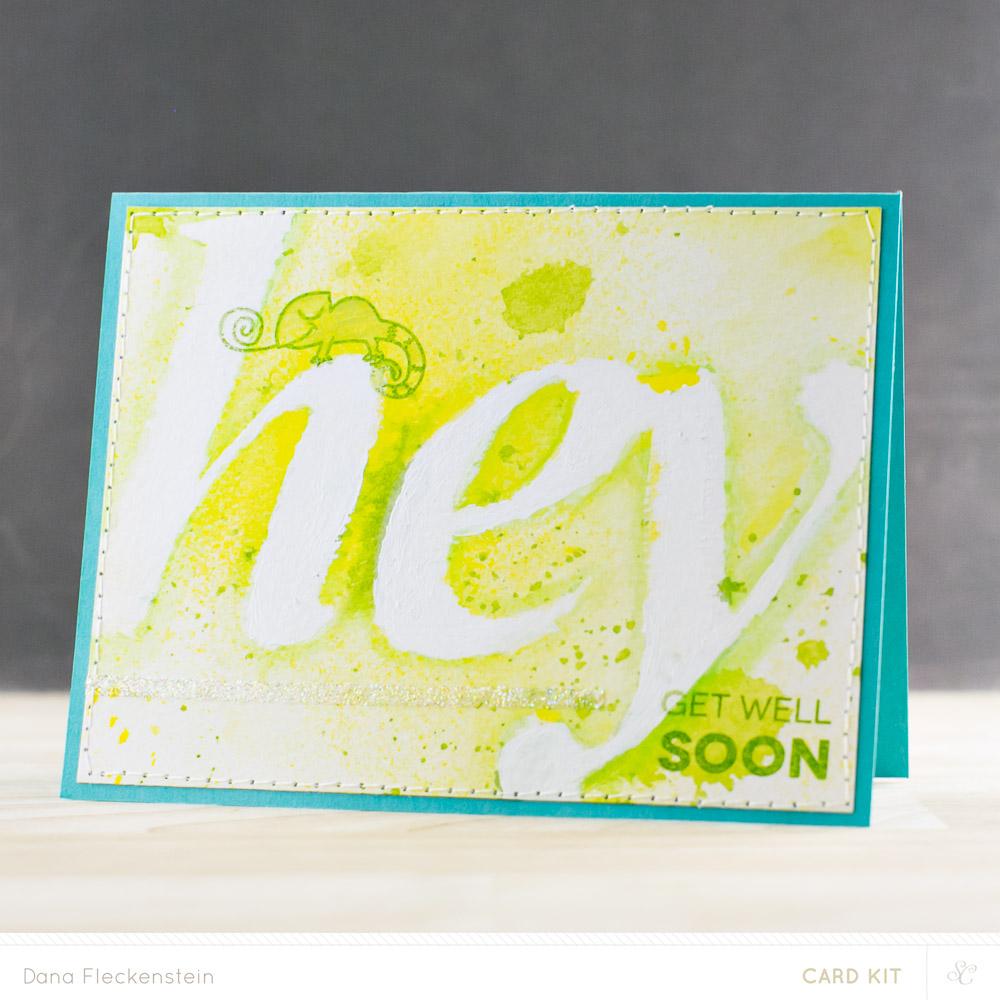 Hey, Get Well Soon Card