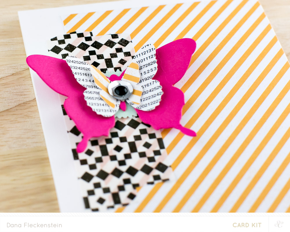 Butterfly Card Detail