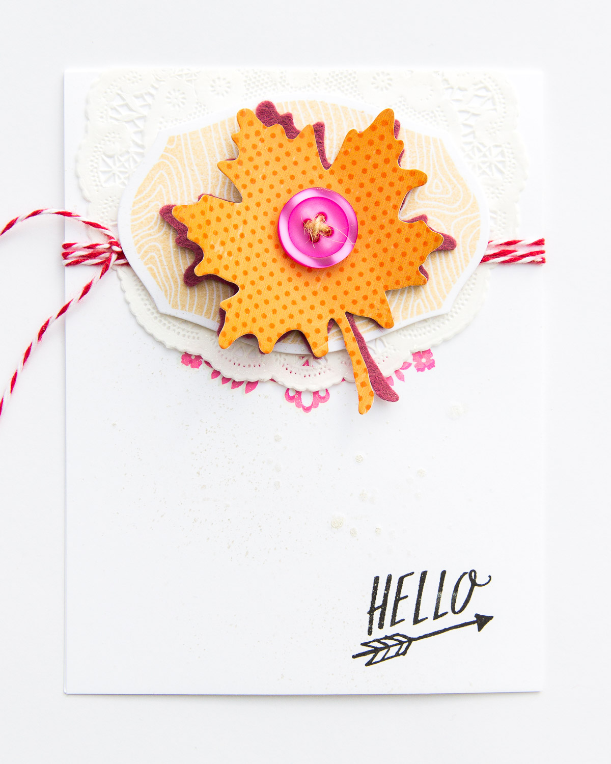 Fall Card by @pixnglue