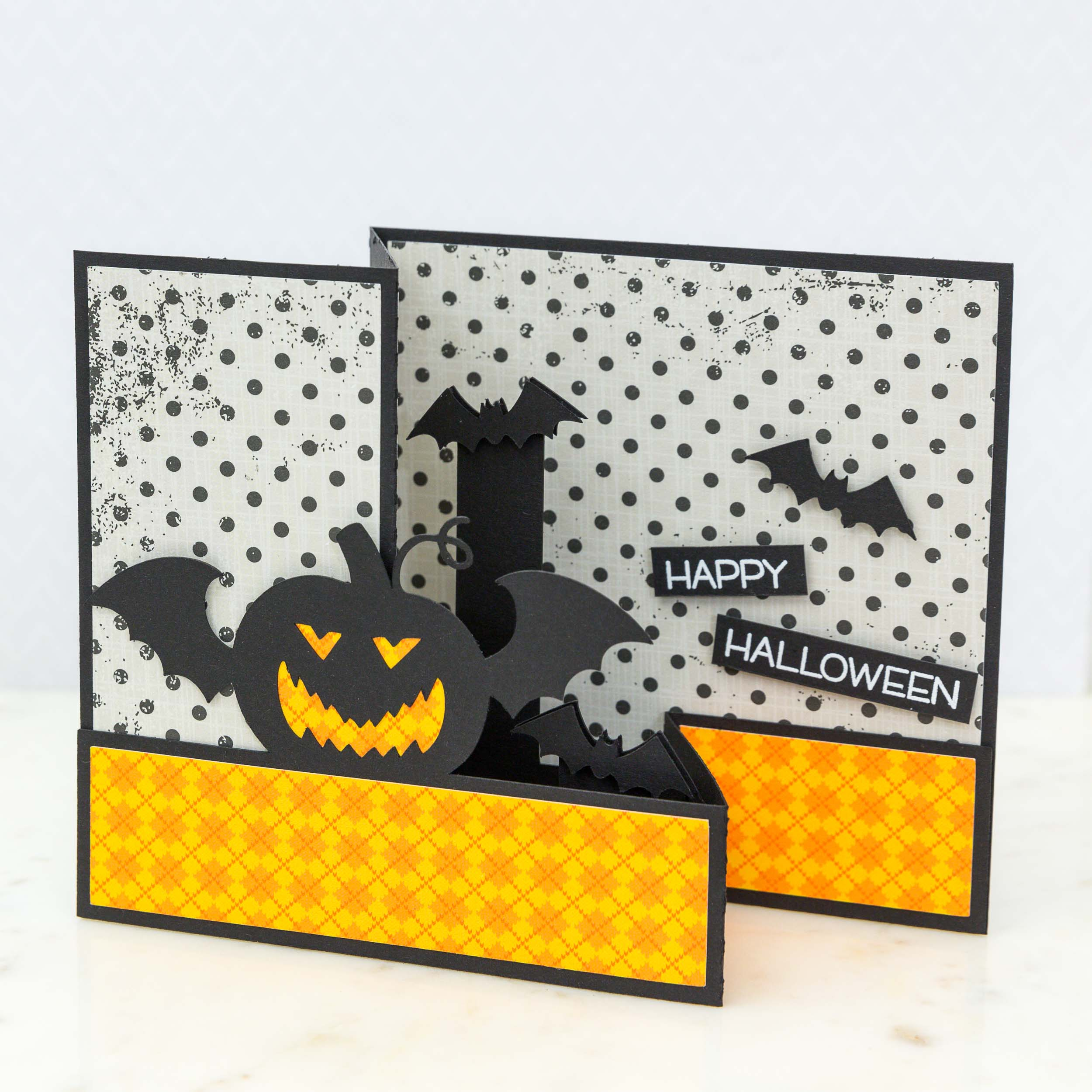 Halloween Card by Mimi Zitrone