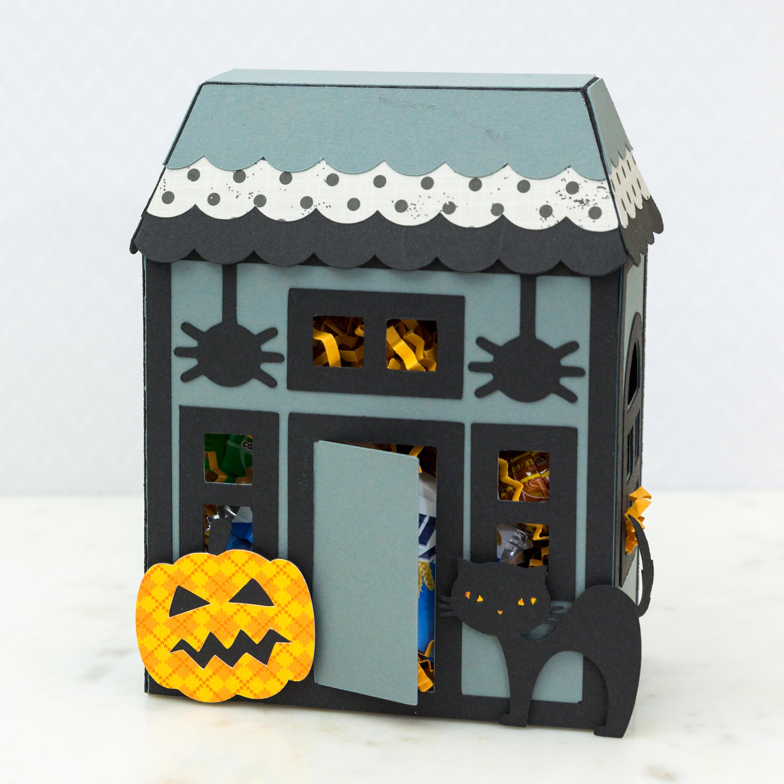 Halloween Haunted House by Mimi Zitrone