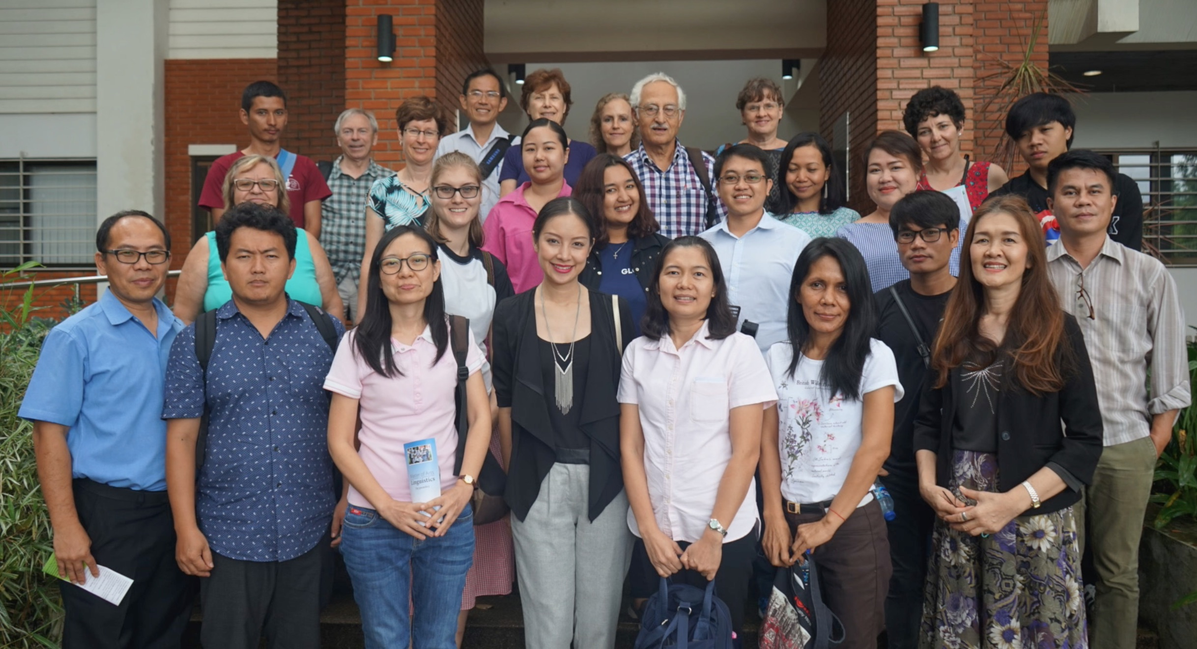 The team from Bethany visiting Wycliffe Thailand July 2018