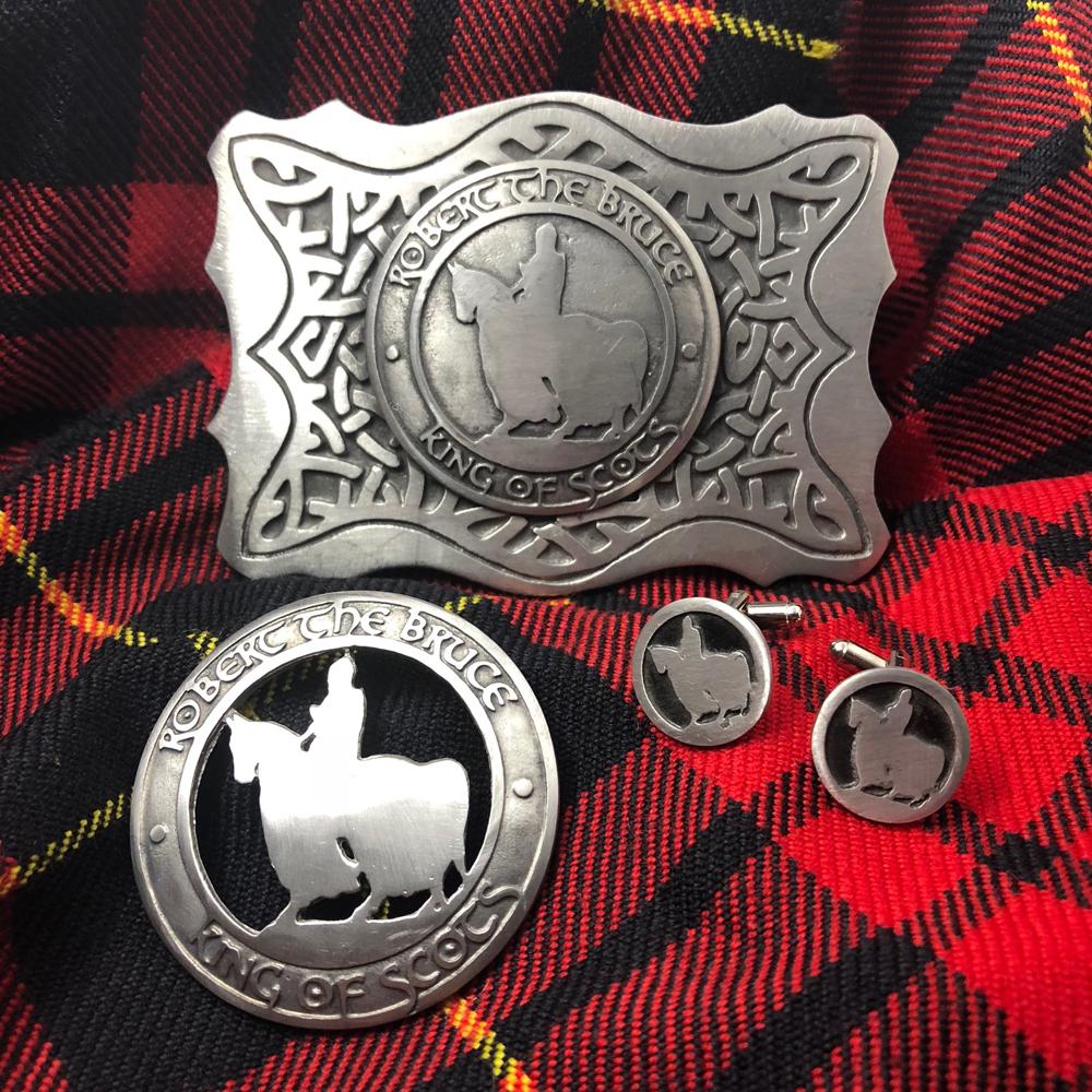 brooch handmade sterling silver pin scottish legend robert the bruce/'s spider