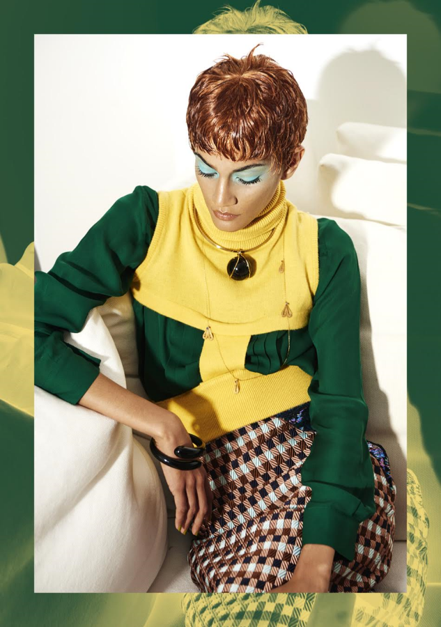 Idonthaveasister bracelet featured in Eclectic Magazine. Picture: Giulia Querenghi.