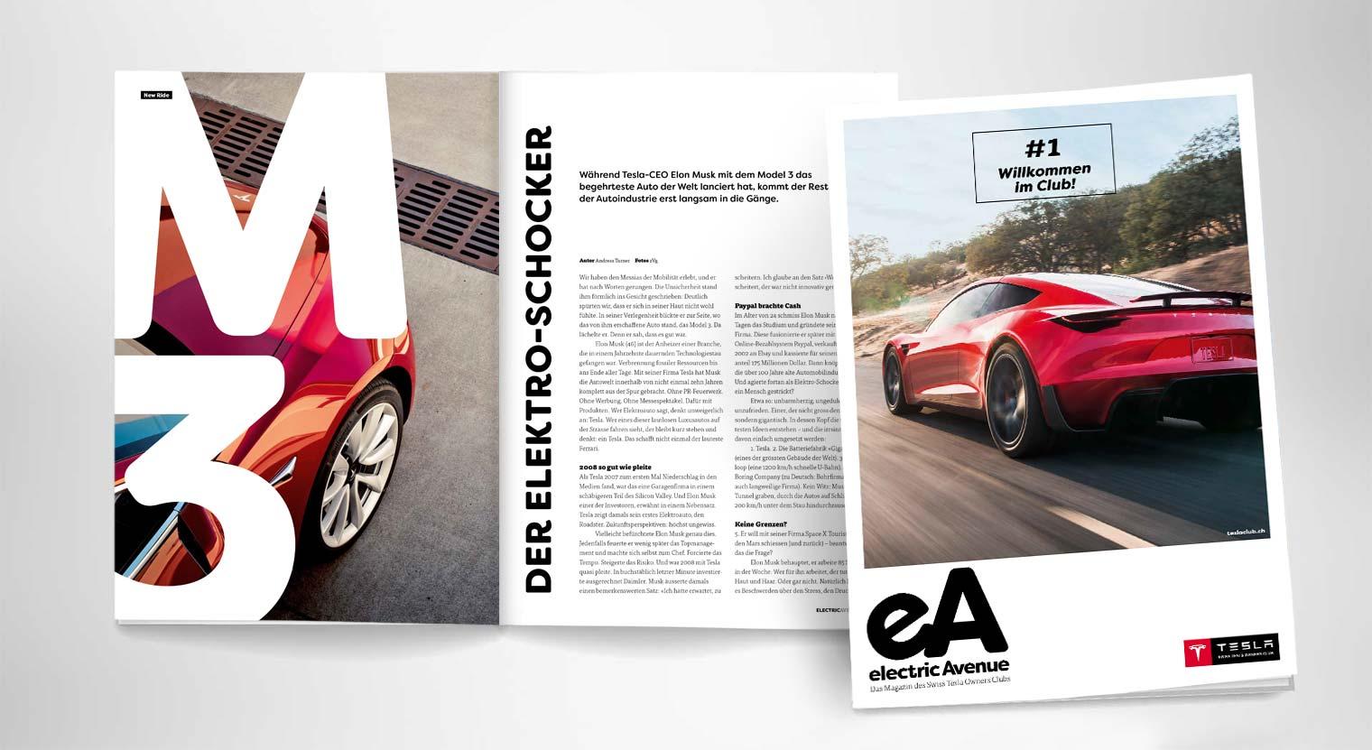 2017 #Swiss Tesla Owners Club Mitgliedermagazin