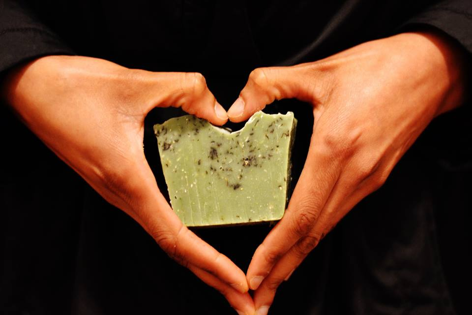 Handmade, natural soap, made for hope
