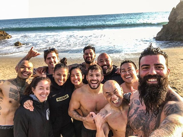 W H A T  A  D A Y 🤙🏽 day one of our RFT Level 2 Cert in the books. So proud to call these people my family. Seriously such a strong group of individuals- mentally, physically, and all around just positive people. Their spirit and tenacity push me past my limits every single time I step on that beach. I'll suffer in the sand with these people every damn day. @da_rulk @hollywoodr33 @ifc.fitness @miabayuga @izzyeatslikegorilla @dragonmasterbri @zocobodypro @sammygifford @tstitan14 @rgr__war3wolf @udmasterflex32 . . #RFT #RawFunctionalTraining #DaMovement #DaOhana #AlwaysCan #ThrowUpAndKeepGoing #GrowthThroughAdversity