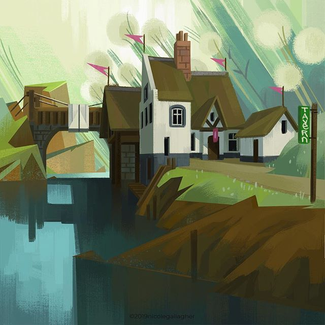 Soon, I will stop drawing taverns and start making some dungeons... #dnd #dndart #dndartwork #dungeonsanddragons #dungeons #d20 #fantasy #fantasyart #ilovefantasyart #photoshop #conceptart #conceptdesign #environment #environmentdesign #instageek #artistsoninstagram #instaart #instaartist