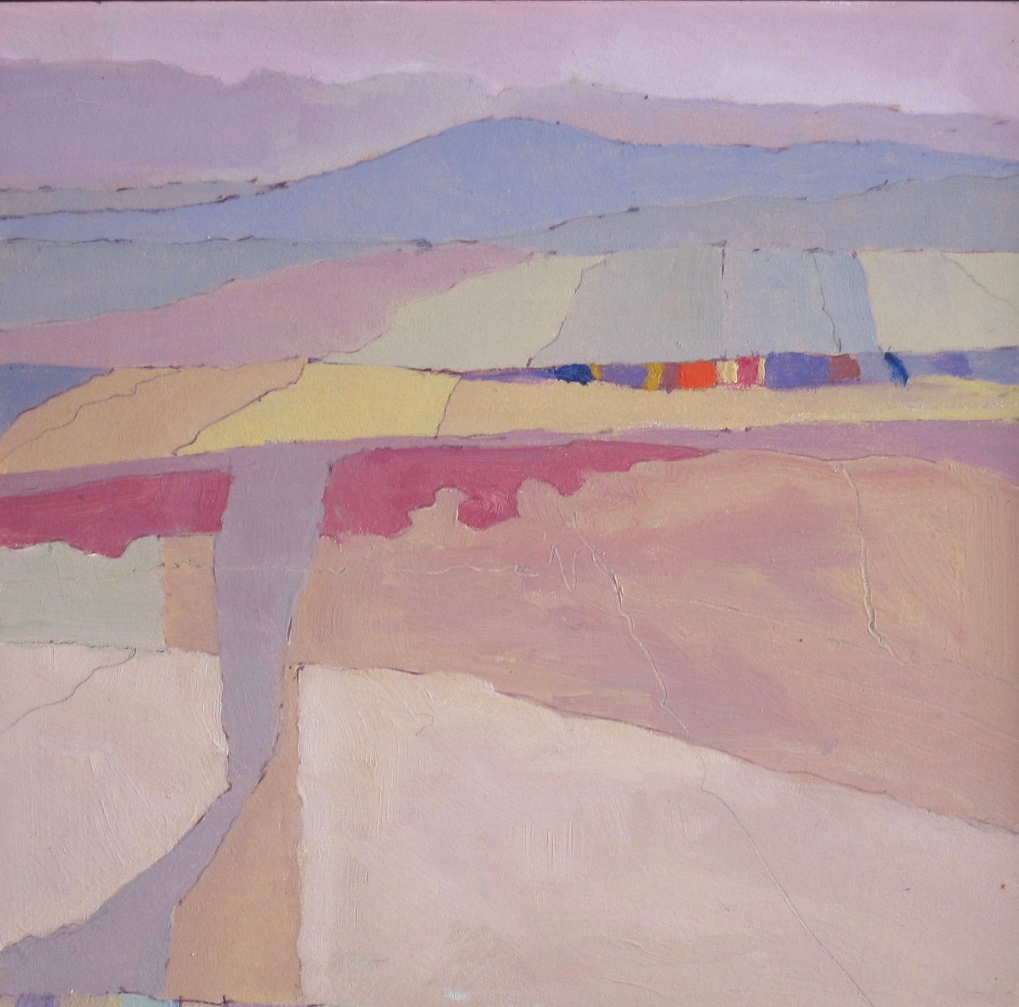 Air Vista#Oil on panel#6 x 6 inches#SOLD
