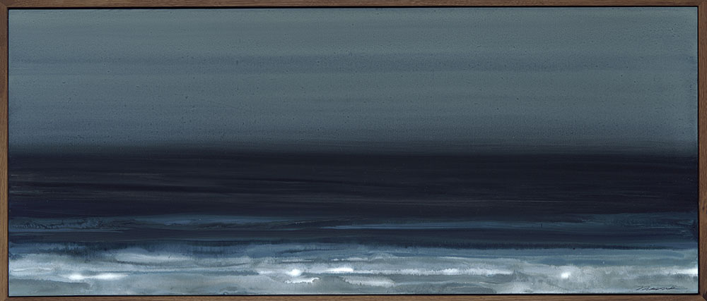 Nocturne 1#Acrylic on panel#20 x 48 inches#SOLD