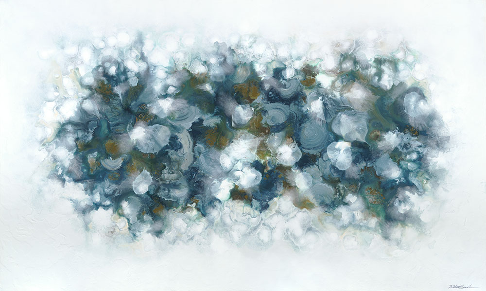 Neptune#Acrylic on panel#36 x 60 inches#SOLD