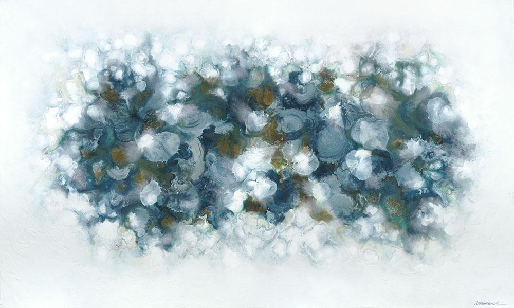 Neptune#Acrylic on panel#36 x 60 inches#$4,800