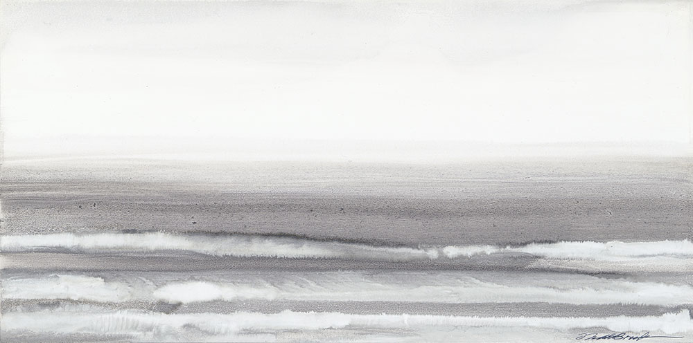 Waves#Acrylic on panel#10 x 20 inches#$700